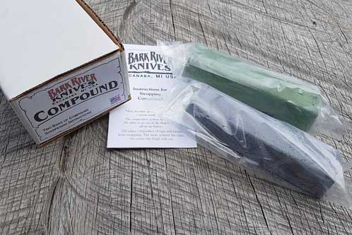 Bark River Sharpening Compound Kit